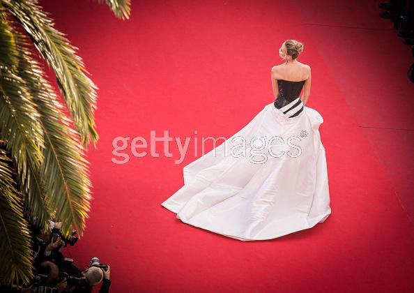 Natasha Poly Cannes Versace