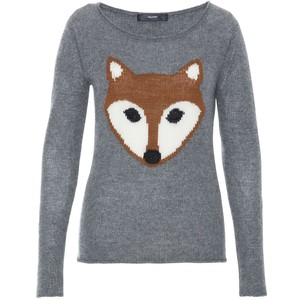 casual fox sweater