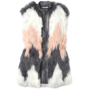 faux fur vest rebecca taylor