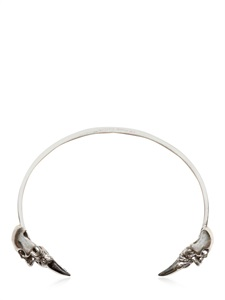 silver skull spike than bangle
